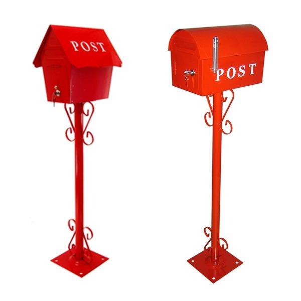 철재실외용 스탠드 우체통/우편함/Post/녹방지/국내산 상품이미지