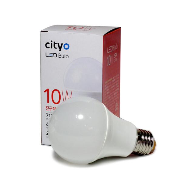 LED전구 10W(씨티)-전구색 /LED조명/엘이디전구/전구 상품이미지