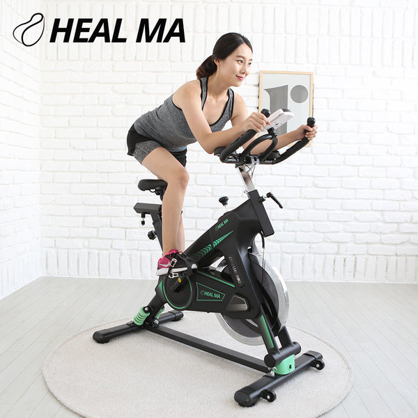 클럽형 헬마 대형 스핀바이크 헬스자전거 휠무게22kg 상품이미지