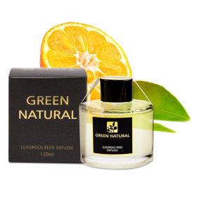 GREEN NATURAL Diffuser 120ml Natural May Chang Oil Diffuser