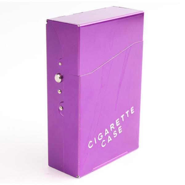 알루미늄 담배수납케이스 HD-7708 보라색 상품이미지