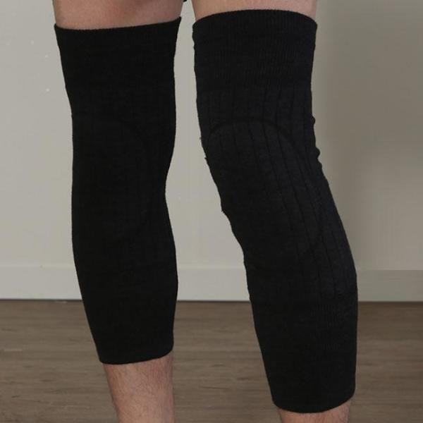 2p 니트 기모 방한 무릎 보호대 상품이미지