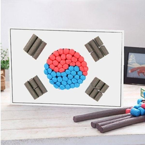 플레이콘 태극기만들기(5인용) 2개 묶음 상품이미지