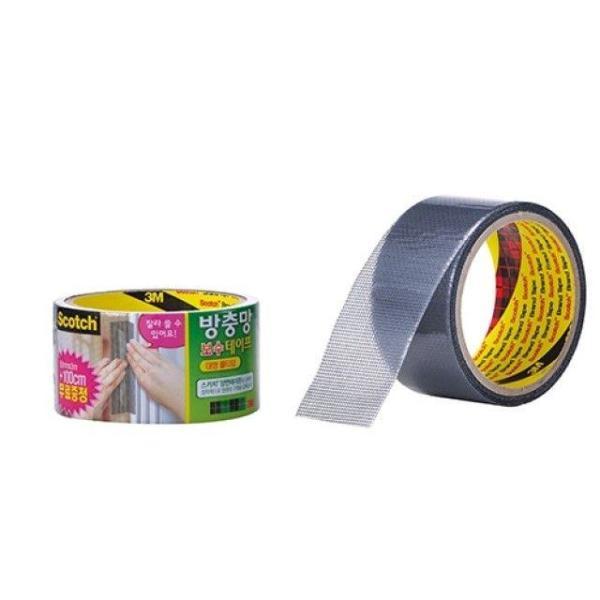 묶음상품/3M)방충망 보수 테이프(롤타입/5cm 3m) 4 상품이미지