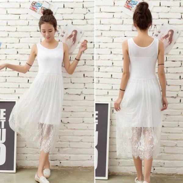 여성 큰옷 MN 빈티지영문나시(2465H806) 빅사이즈 상품이미지