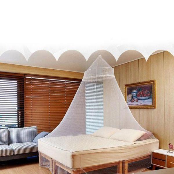 FC 심플 사각 모기장(화이트) (중) 모기장 침대모기 상품이미지