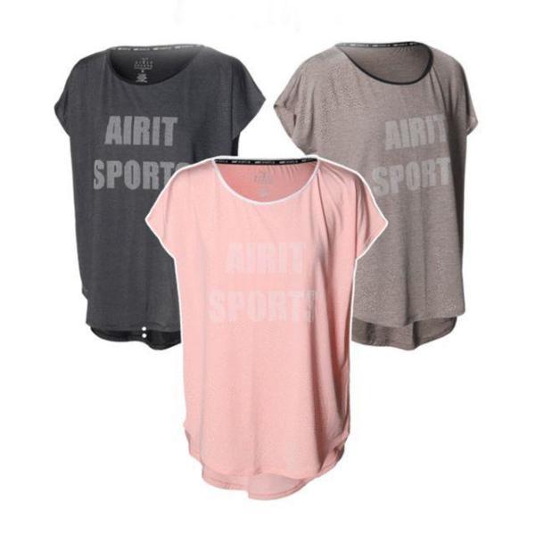 여성용 임팩트민소매티셔츠 1개 요가복 요가상의 운 상품이미지