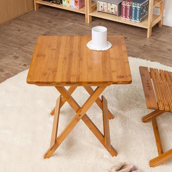 간편 접이식 우드 사각 테이블 상품이미지