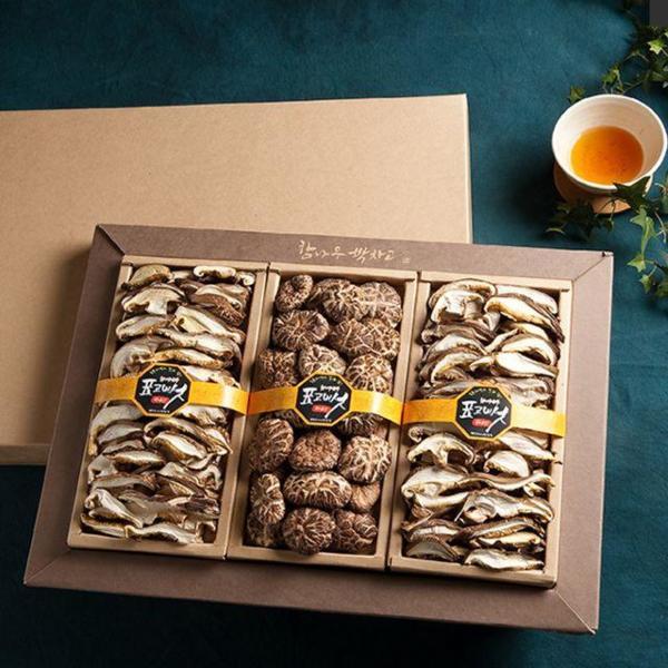 경성표고버섯 흑화고 버섯혼합세트 버섯선물세트 명 상품이미지