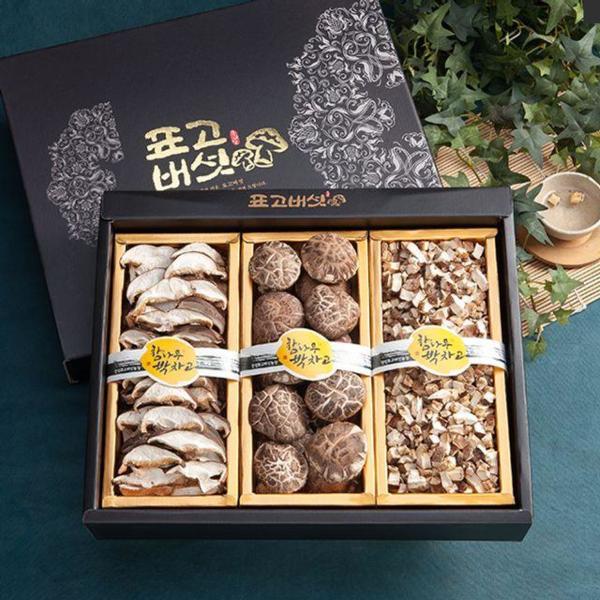 경성표고버섯 동고 3종세트 버섯선물세트 명절선물 상품이미지