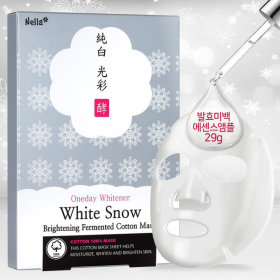 하얀눈광채순면마스크10매/미백개선