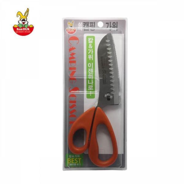 삼덕퀸스타 캠핑 가위 분리형 칼 가위 겸용 상품이미지
