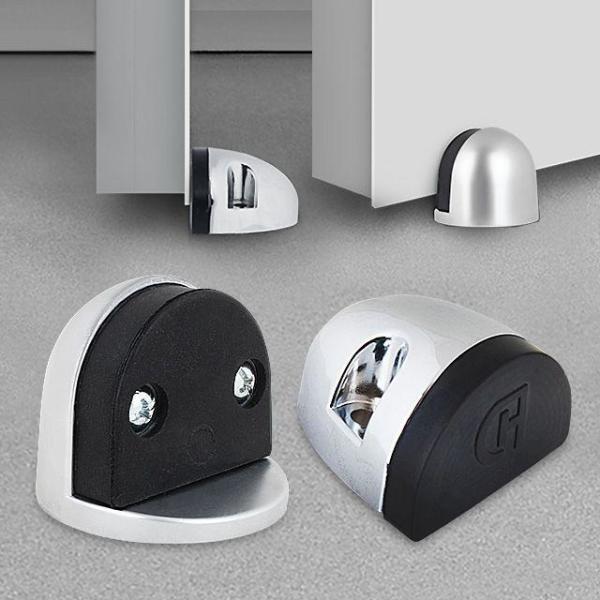 반달 스토퍼 2P/현관 방화문 현관문 바닥 도어스톱 상품이미지