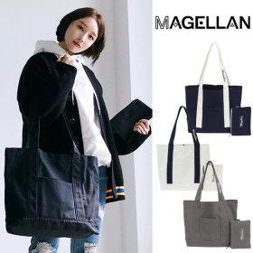 마젤란 로이스NY 에코백 파우치 숄더백 무지 캔버스백