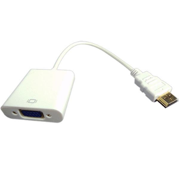 컨버터HDMI TO VGA 컨버터케이블 변환젠더HDTV 상품이미지