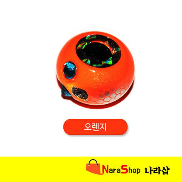 나라샵-유동식 타이라바헤드(써클)/참돔/50g 오렌지 상품이미지