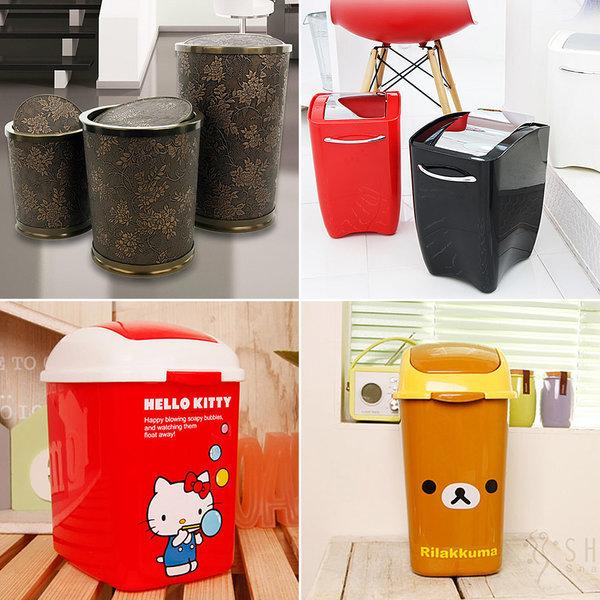 예쁜 인테리어 휴지통 쓰레기통/종량제압축분리수거함 상품이미지