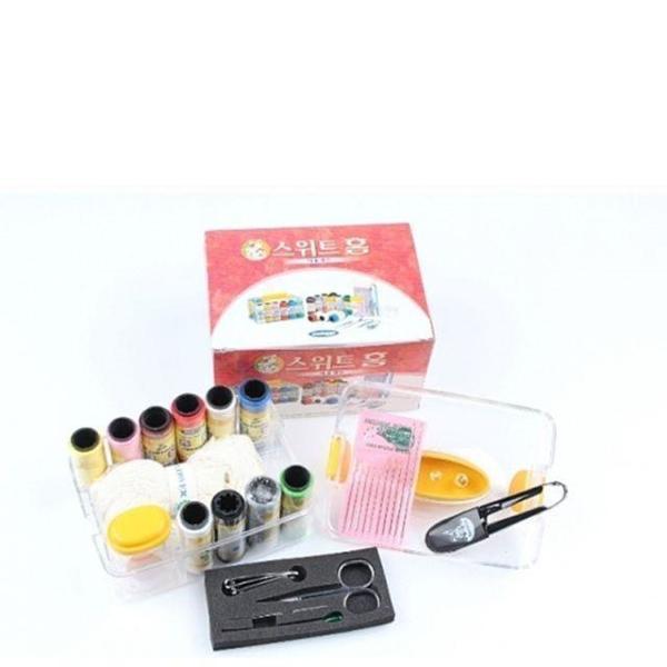 스위트홈미용세트 반지함 반짇고리 바느질세트 미용 상품이미지