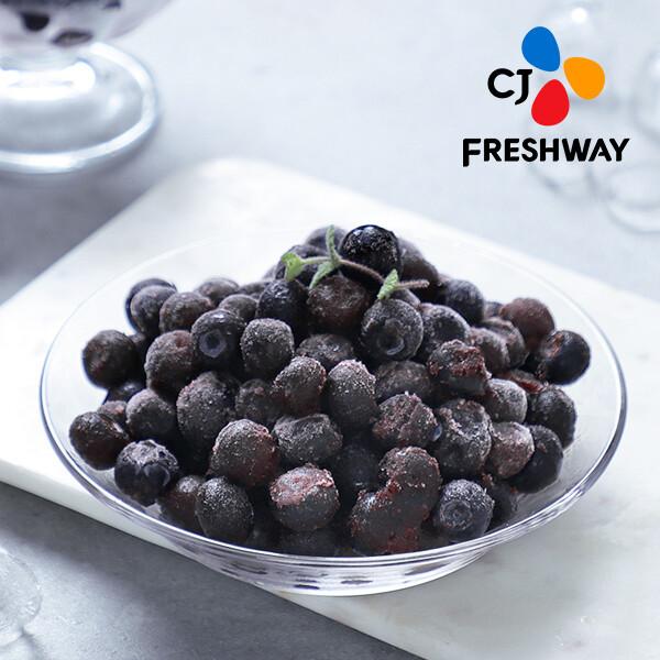 (현대Hmall)CJ프레시웨이 냉동 블루베리 1kg x 3개 / 총 3kg 상품이미지