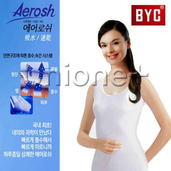 (BYC)여성 기능성 에어로쉬 민소매여런닝(A1116) 상품이미지