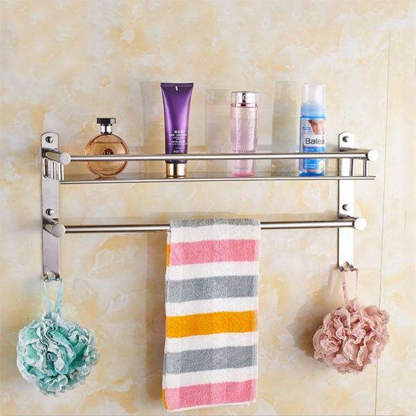 홈드림 스텐 수건걸이 욕실선반(50x21cm) 상품이미지