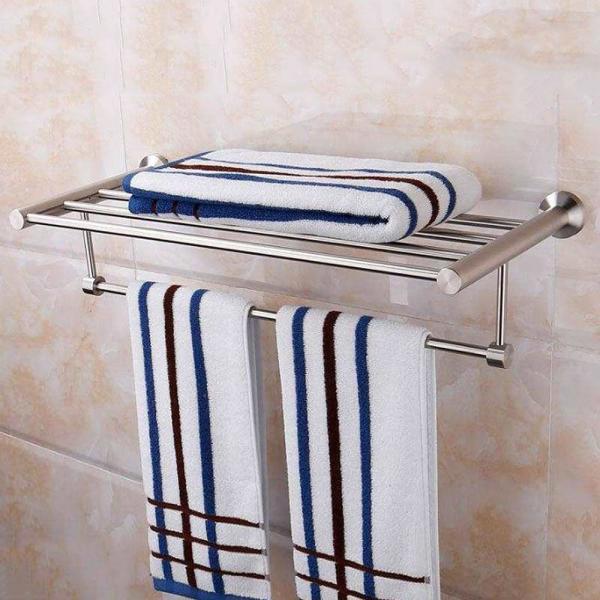리빙플랜 욕실 수건선반(60x13cm) 상품이미지
