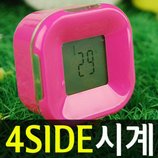 굴리기만하면 디지털 시계.달력.알람.타이머.온도계가 내맘대로 전자시계.무드등.탁상시계.자명종.선물 상품이미지