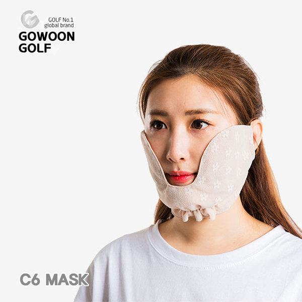 고운골프 C-6 쿨망사마스크 자외선 차단 마스크 상품이미지