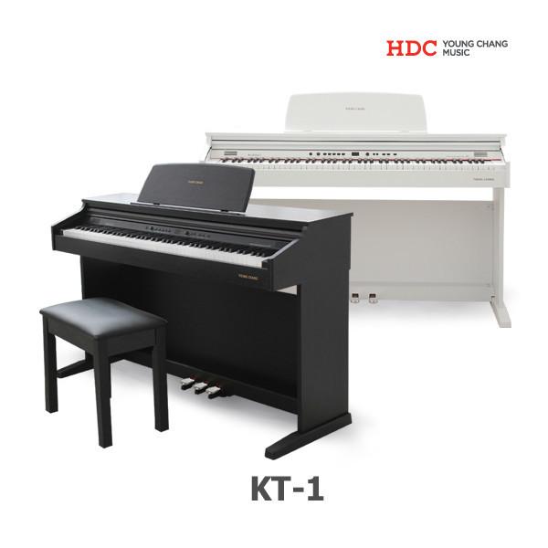 글로벌뮤직 영창 디지털피아노 KT1/KT-1/최신형/해머건반/절전기능/다양한 교육기능/전 상품이미지