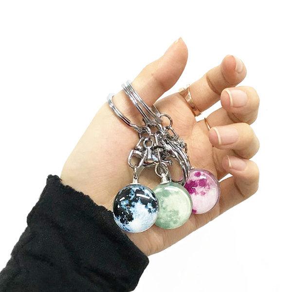 특별한 행운의 달 야광 키링 럭키문 키홀더 열쇠고리 상품이미지