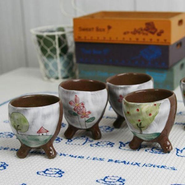 동화나라 초콜릿 삼발 술잔세트(5P) 상품이미지
