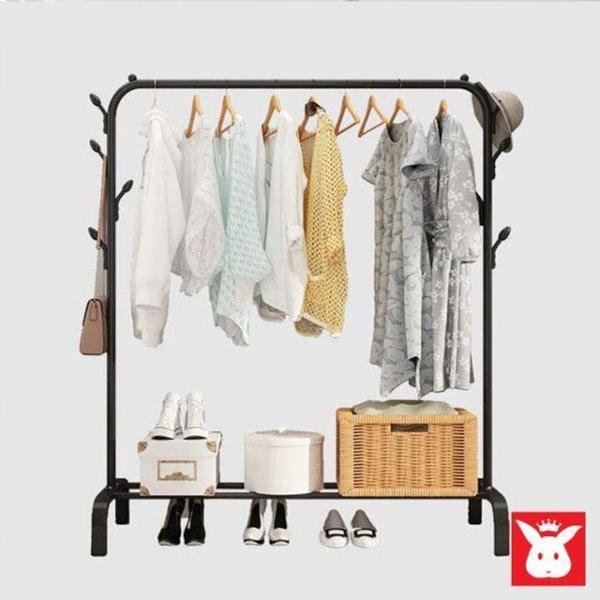 나인 원목 스탠드 옷걸이(175cm) (다크브라운) 상품이미지