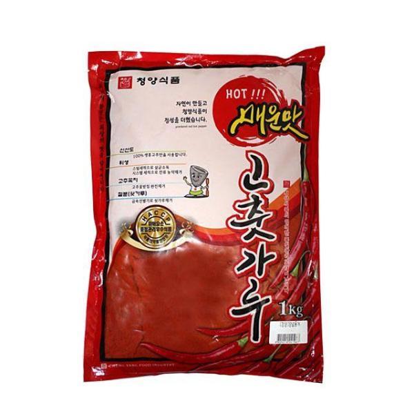 (면)청양식품 고춧가루(미분-매운맛)1kg 상품이미지