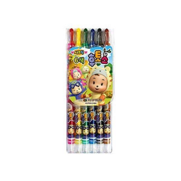 후토스색연필(6색) 사무용품 문구 사인펜 색연필 상품이미지