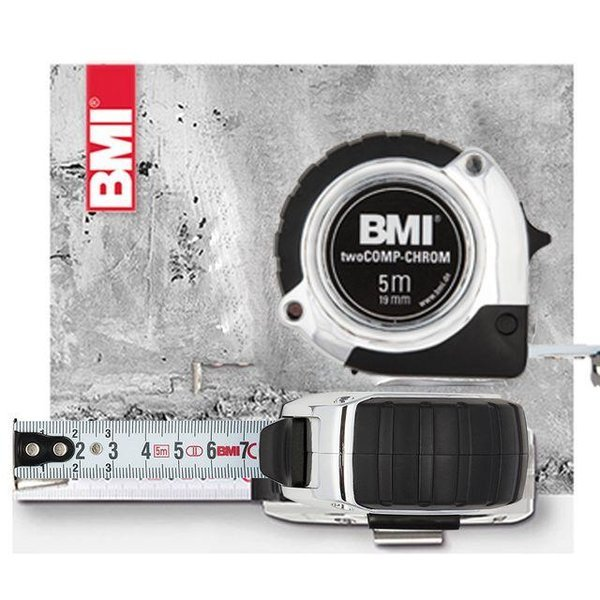 BMI 줄자 10M 474 Chrom EC2 상품이미지