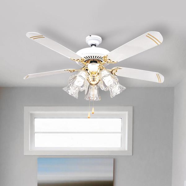 노렐 화이트 실링팬 씰링팬 천장형 선풍기 팬 등기구 상품이미지