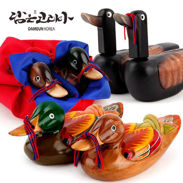 원앙 기러기 함용품 결혼선물 공예품 예단 외국인선물 상품이미지