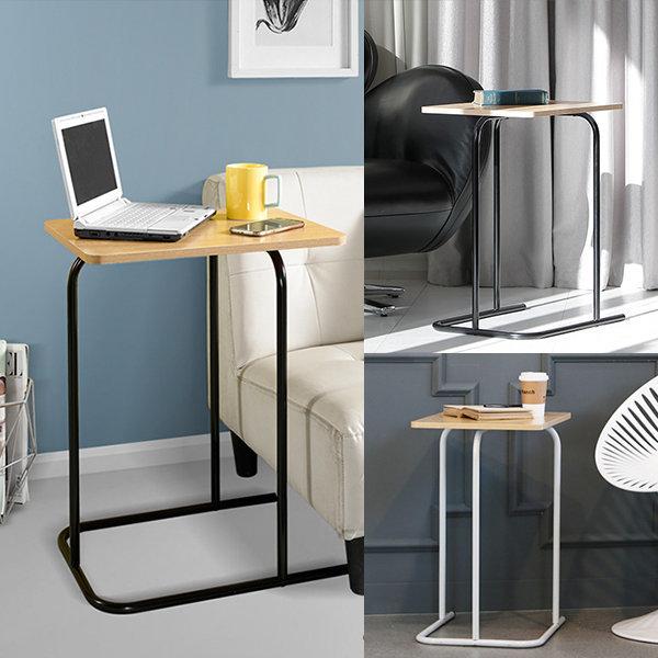 쓰기편한 사이드 테이블 / 미니 식탁 카페 티 노트북 상품이미지