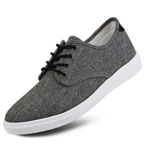 데일리 기본 패브릭 스니커즈 단화 캐주얼 남자신발 상품이미지