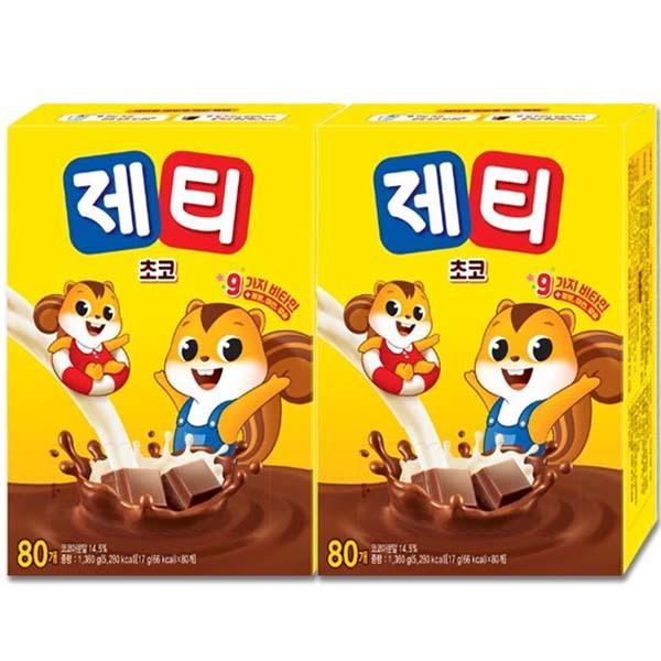 제티 초코 80T+80T/미떼/핫초코 /제티펀 20T증정 상품이미지