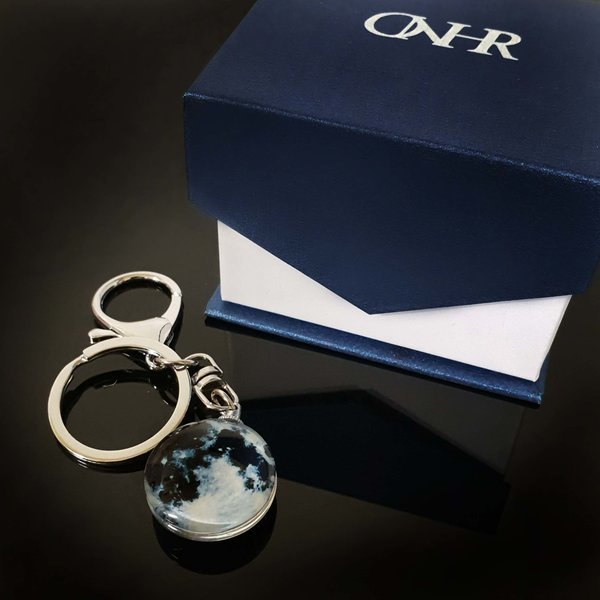 특별한 야광 키링 럭키문 키홀더 열쇠고리 커플 선물 상품이미지