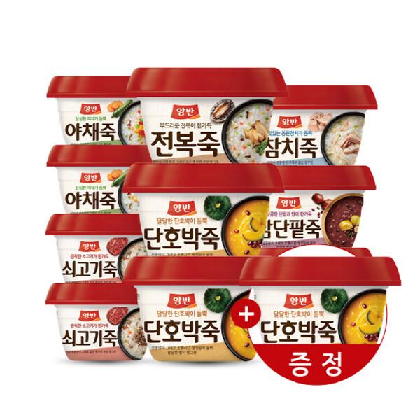(현대Hmall) 동원 양반죽 285gX10개+(호박죽증정) 상품이미지