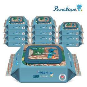 아기물티슈 바이탈 플러스 스트롬볼리 휴대 캡형 20매x12팩