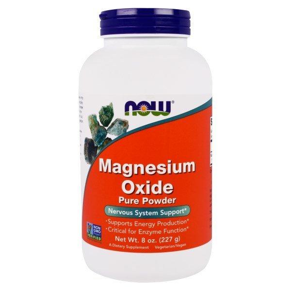 나우푸드 순수 산화 마그네슘 파우더 8 oz (227 g) 상품이미지