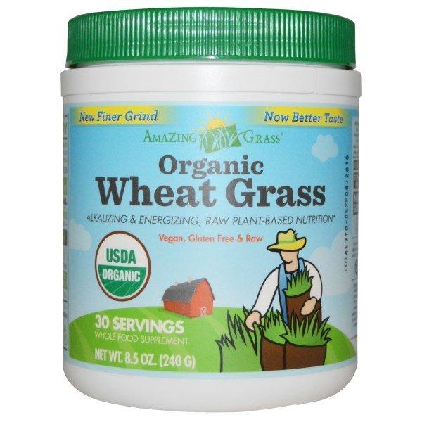 Amazing Grass. 유기농 휘트그래스. 8.5 oz (240 g) 상품이미지