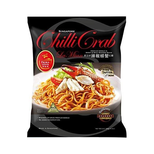 홀릭존 해외배송/Prima Taste Chili Crab Lamian Noodles  22.4 Ounce/구매대행 상품이미지