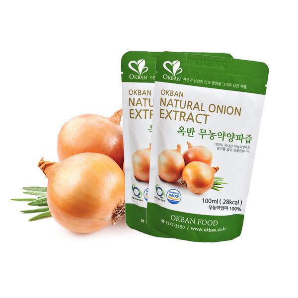 옥반식품 친환경무농약양파즙 100팩 FDA등록 구매후기 상품이미지