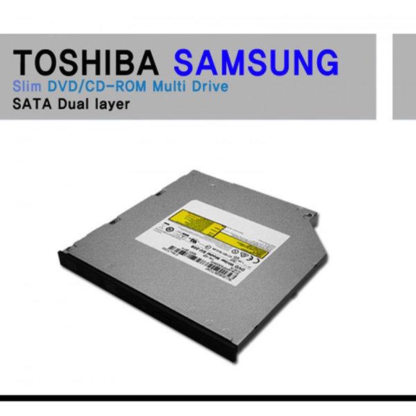 도시바 삼성 슬림 DVD CD-ROM SU-208 SATA 듀얼레이어 상품이미지