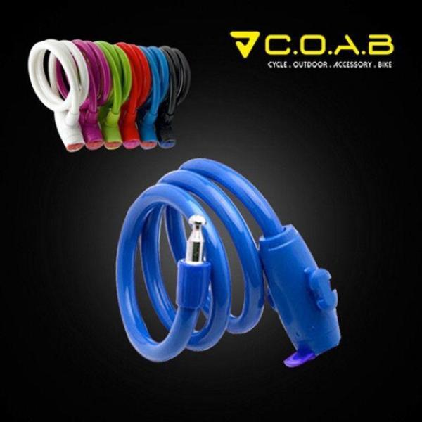 COAB 와이어 자물쇠-블루 상품이미지