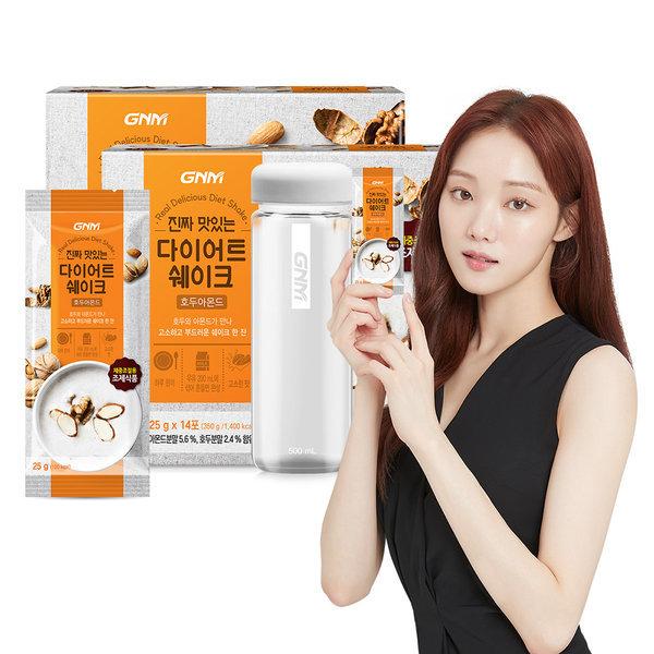 단백질 다이어트 쉐이크 호두아몬드2박스+보틀1병 상품이미지